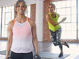 Halle Berry reveals secrets to her rock hard bod as she launches workout series on free fitness app