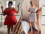 Instagram users wear pillows as DRESSES in quarantine style challenge