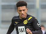Jadon Sancho 'convinced he will be a Manchester United player before the transfer window closes'