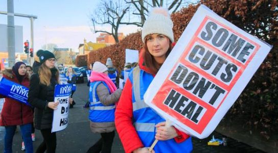 Nurses believe Northern Ireland health service is near to collapse, says frontline professional