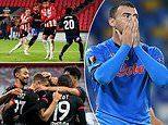 EUROPA LEAGUE ROUND-UP: Napoli stunned at home by AZ Alkmaar and Mario Gotze scores again for PSV
