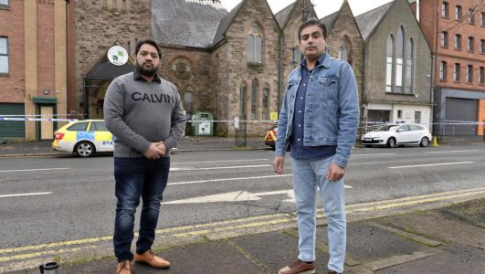 Belfast multicultural centre staff stunned as nearly £60k donated after arson attack