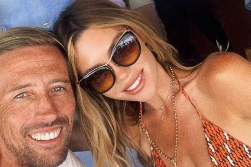 Peter Crouch hired giant festival screen to watch World Cup but wife Abbey Clancy hijacked it for Love Island
