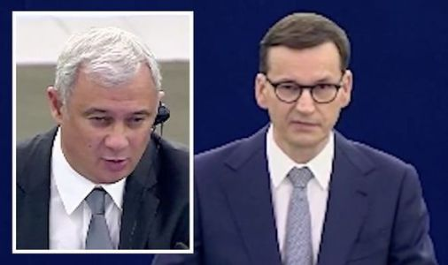 'Don't disturb me!' Rattled Polish PM erupts as European Parliament session gets heated