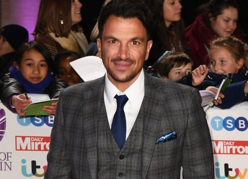 Peter Andre wants to be frozen after he dies which sounds pretty chill