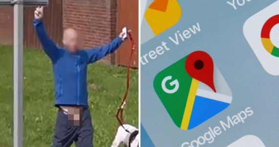 Hilarious Google Maps 'cock-up' blurs totally the wrong body part