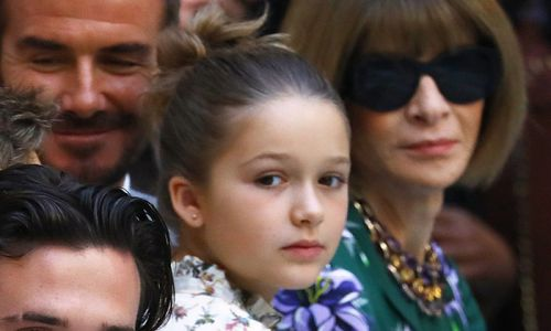 Harper Beckham rocks a slogan T-shirt and grown up jewellery in Miami