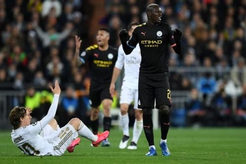 Man City star Benjamin Mendy out of Champions League second leg vs Real Madrid