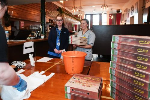 Glasgow's 1051 GWR bar and grill gives away nearly 800 meals a day to those that need them including front line NHS staff