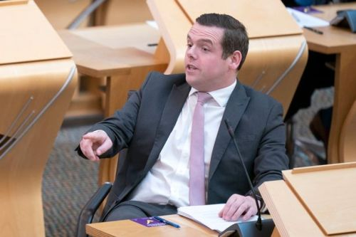 Douglas Ross slams trade union bosses for 'exploiting COP26' to get more money