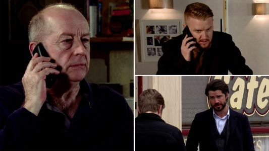 Coronation Street spoilers: 22 new images reveal evil Geoff's next move, Gary caught and Daniel's devastation