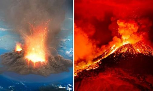 Volcano warning: Super-eruption could plunge world into chaos - 'Serial killers of life'