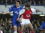 Arsenal legend Robert Pires names John Terry and Rio Ferdinand as his toughest opponents in England