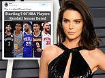 Kendall Jenner claims she has only dated two of five NBA players she's been linked to