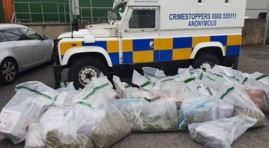 Men charged after £640k Newry cannabis seizure