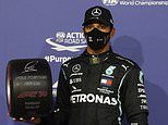 Lewis Hamilton takes his TENTH pole position of the season for the Bahrain Grand Prix