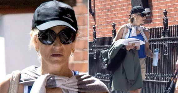 Emily Maitlis steps out for afternoon stroll as Ofcom receives 247 complaints after Dominic Cummings speech