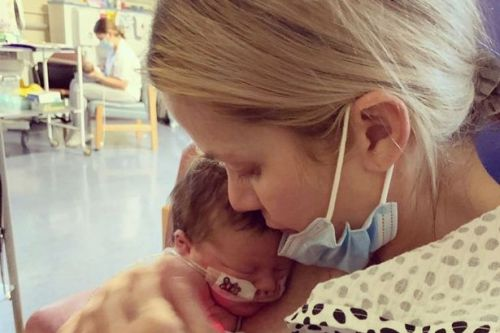 Kate Lawler's baby Noa discharged from hospital after second emergency dash