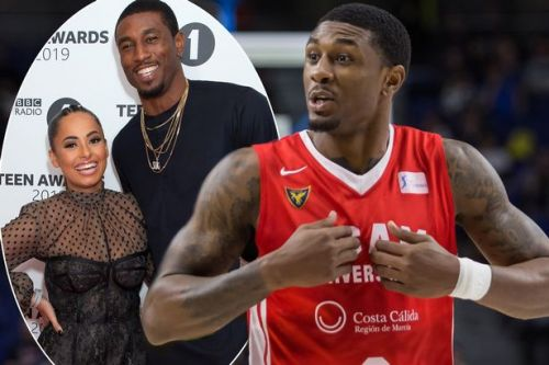 Amber Gill supports Love Island co-star Ovie Soko at basketball match after shutting down romance rumours