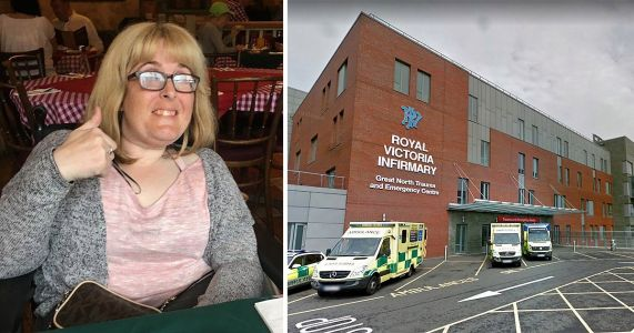 Disabled woman died in hospital after food and drink was left out of reach