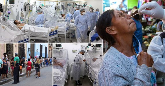 Latin America is 'new coronavirus epicentre' as pandemic slows in Europe and US