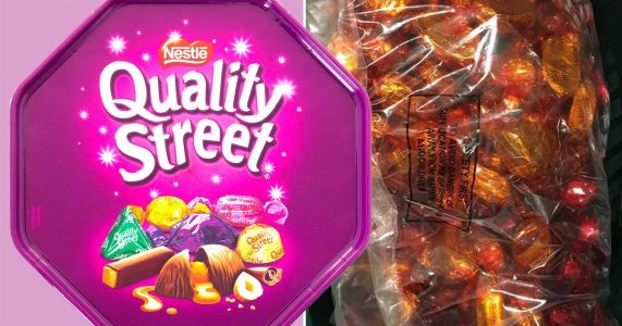 John Lewis is selling massive bags of single flavour Quality Street sweets for £5