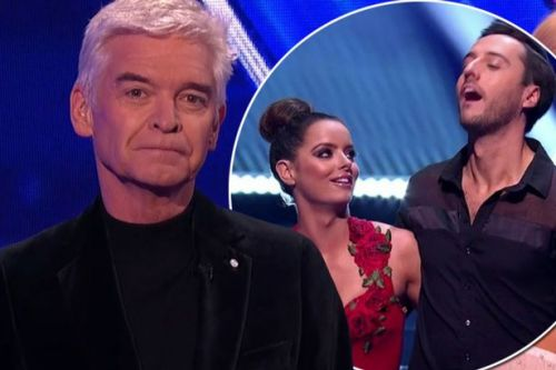 Holly and Phil forced to apologise as Maura Higgins drops f-bomb on Dancing on Ice
