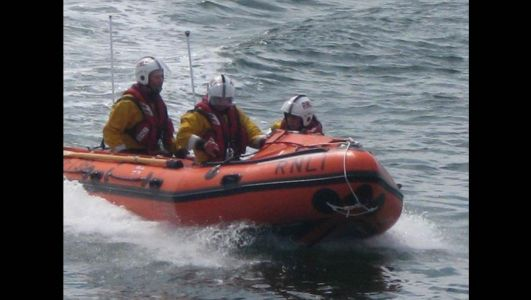 One in hospital and rescue operation underway after car plunges into water at Strangford