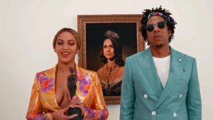 Beyoncé reveals the meaning behind the Meghan Markle Brits painting