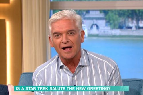 Holly Willoughby in stitches on This Morning at Phillip Schofield's X-rated joke