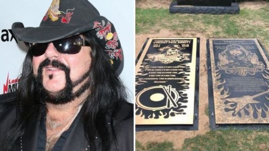 Pantera's Vinnie Paul remembered alongside brother Dimebag Darrell with side-by-side grave markers