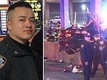 NYPD officer dies in a horrific car crash that leaves two passengers seriously injured