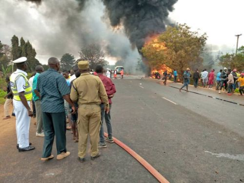 At least 57 killed after fuel tanker explosion in Tanzania