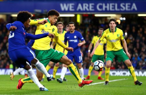 Predicted Chelsea Xl to face Norwich City