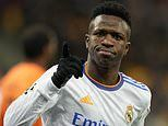 Vinicius Junior 'is a great player,' hails Karim Benzema after Real Madrid's 5-0 Shakhtar win