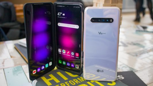 LG V60 is sort of a foldable phone, with two 6.8-inch displays, a huge battery and 5G
