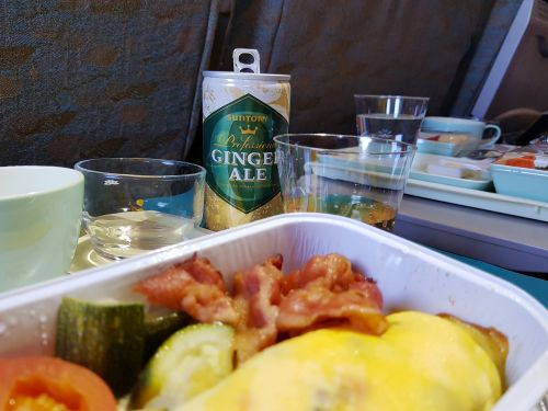 A flight attendant says you should be wary of eatings eggs and fruit on a plane - and it explains why cabin crew pack their own meals