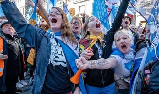 END OF UK? Scottish independence support SOARS amid no deal Brexit fears - shock poll