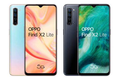 Oppo Find X2 Lite images and specs leak