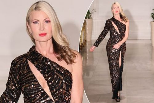 Caprice makes catwalk return after a decade following 'difficult' Dancing On Ice exit