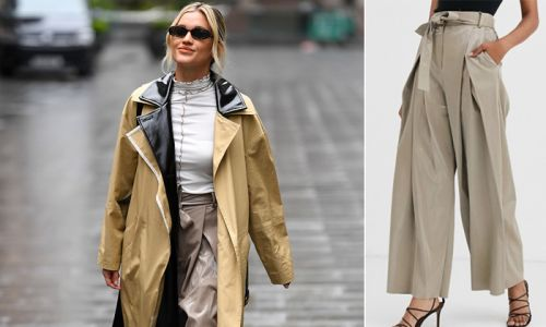 Want some leather-look trousers? Ashley Roberts' ASOS pair are in the sale
