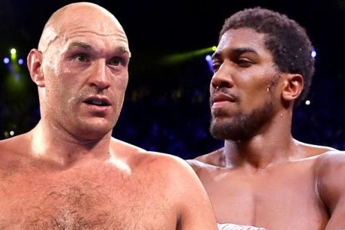 Anthony Joshua vs Tyson Fury announced - and fighters will earn record purses