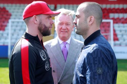 Billy Joe Saunders to fight Shefat Isufi at Stevenage's Lamex Stadium in May