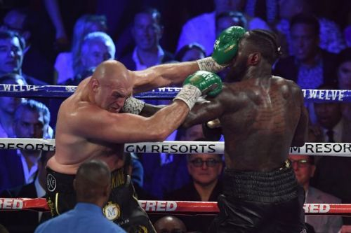 Deontay Wilder accuses Tyson Fury of cheating in both fights in rambling video