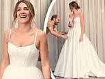 All the details of Bachelorette star Georgia Love's couture wedding dress