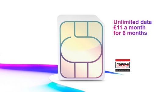 Insane £11/pm unlimited data SIMO among Three's half-price mobile phone deals