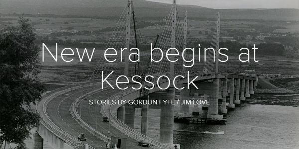 FROM THE ARCHIVES: The day the Kessock Bridge opened