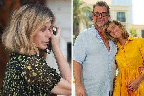 Kate Garraway in tears as she gives update on husband Derek's coronavirus battle