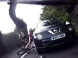 VIDEO: Swindon cyclist punched in the face during road rage incident