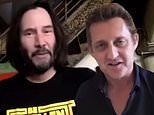 Keanu Reeves and Alex Winter deliver a message to graduating seniors